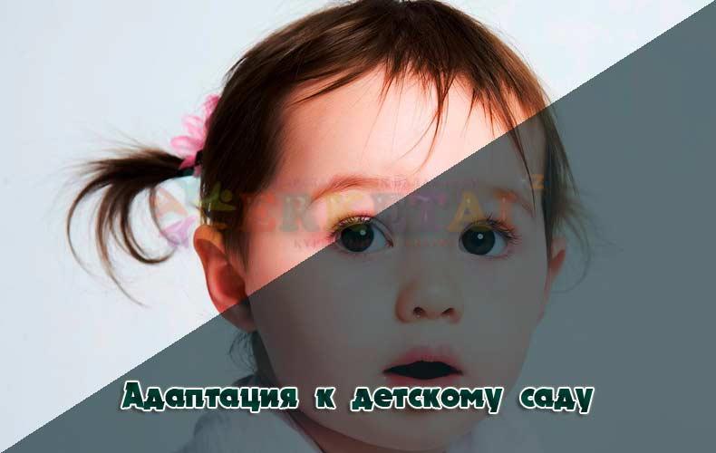 адаптация ребенка в детском саду.