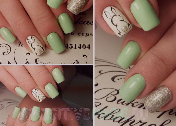 аккуратно накрасить ногти