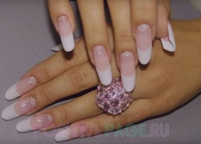 красивые форма ногтей