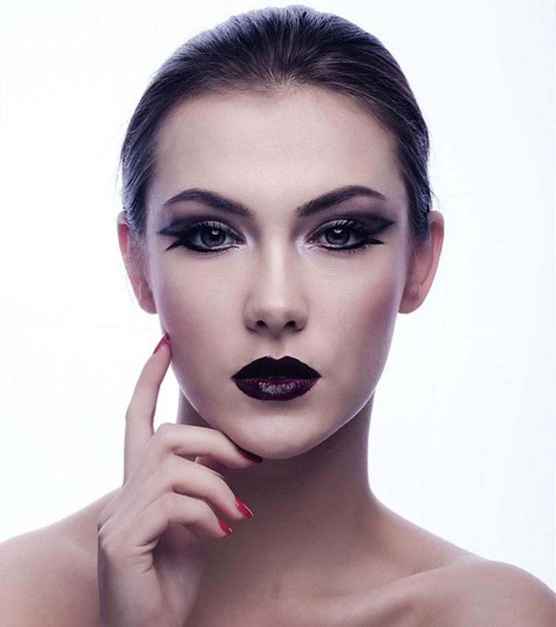 макияж бровей
