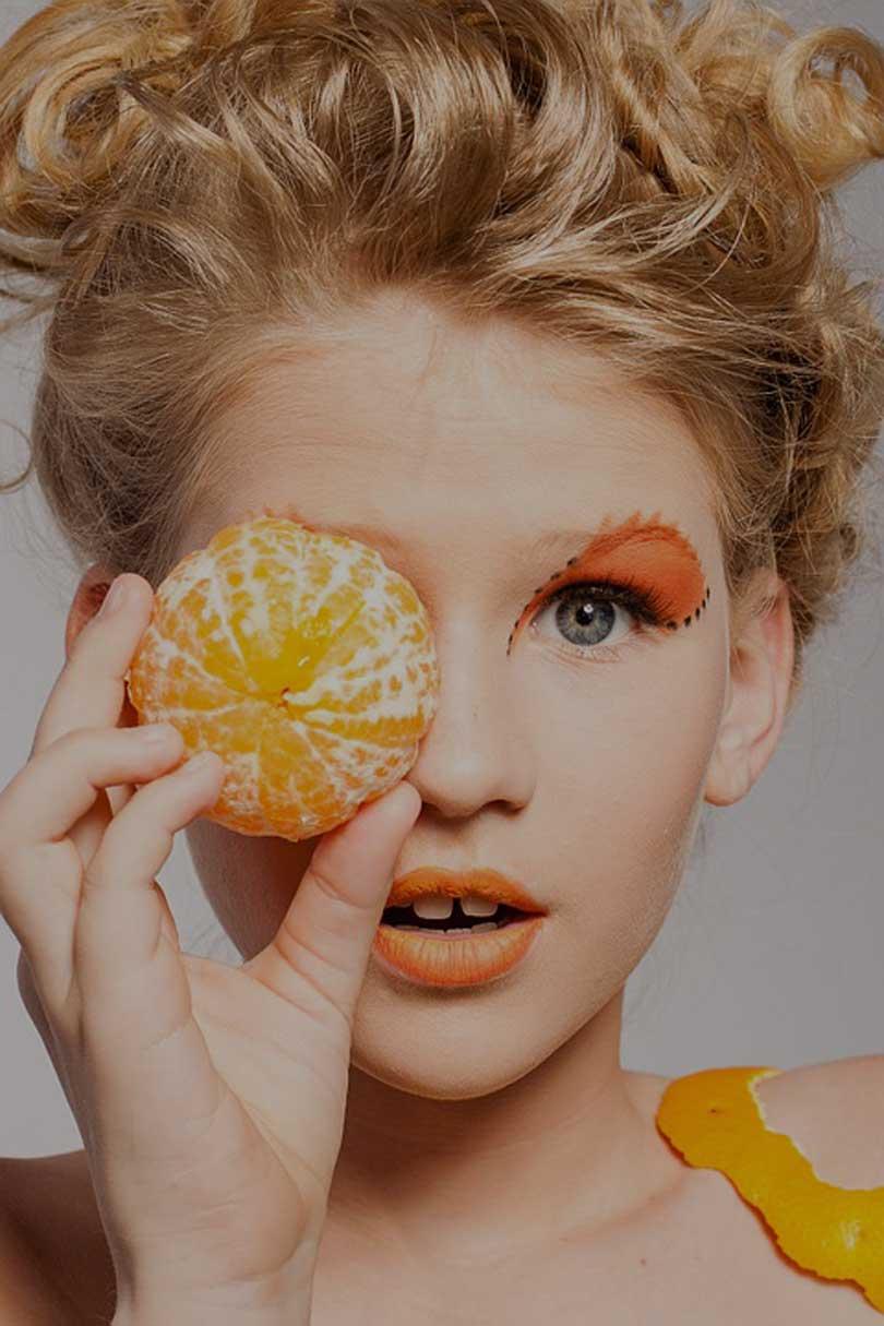 перманентный макияж век.