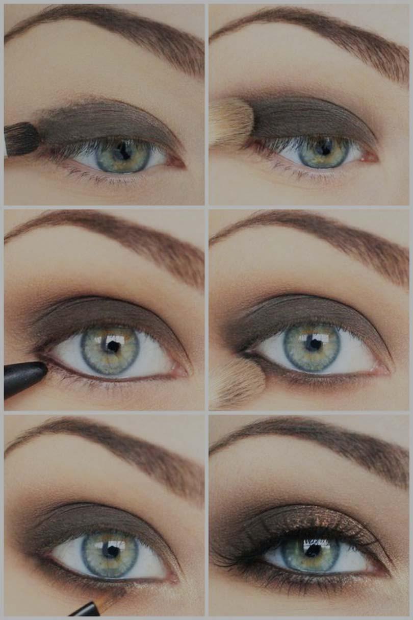 фото макияжа для серых глаз