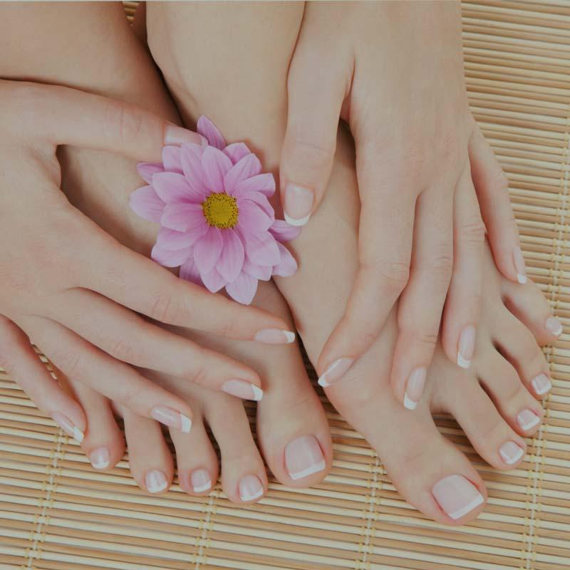 красивый ногти без грибка