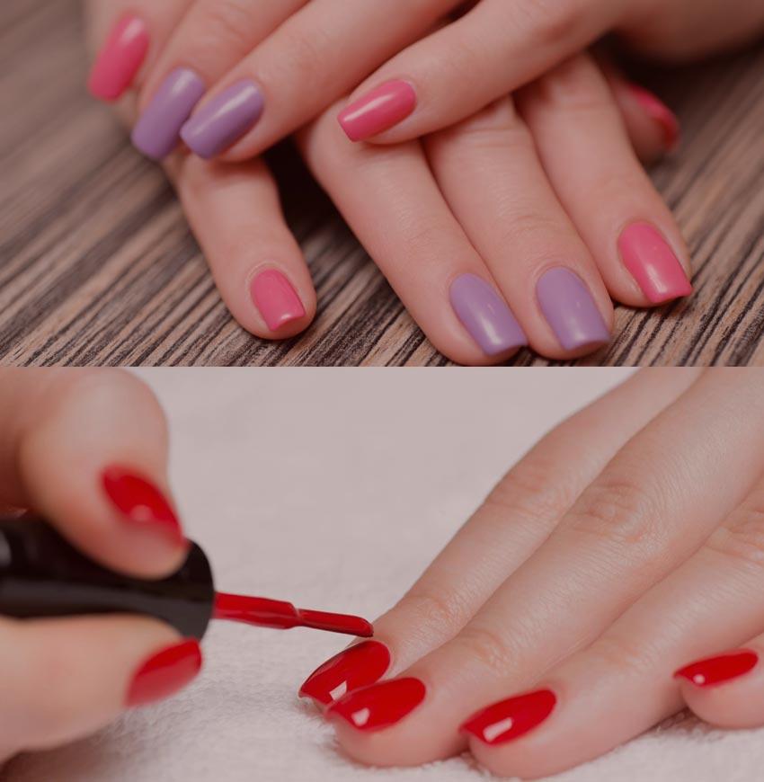 накрасить ногти красиво дома