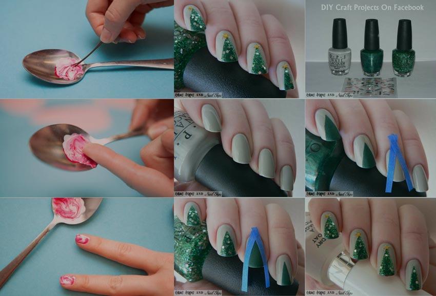 как украсить ногти лаком