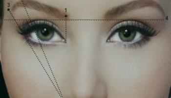 Как нарисовать идеальные брови