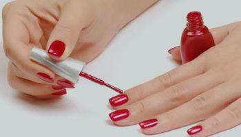 Как ровно накрасить ногти возле кутикулы