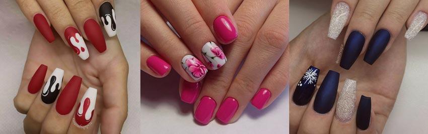красивые цветы на ногтях и много другое