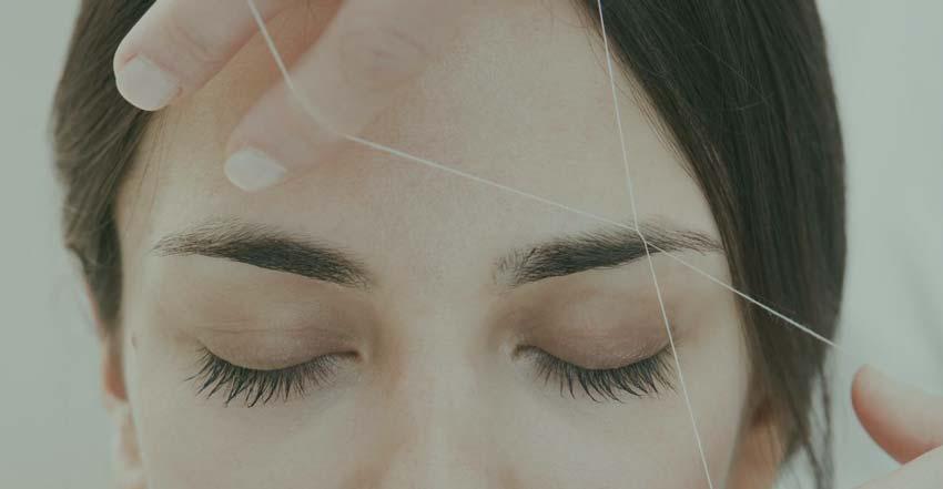 инструкция по удалению волос ниткой
