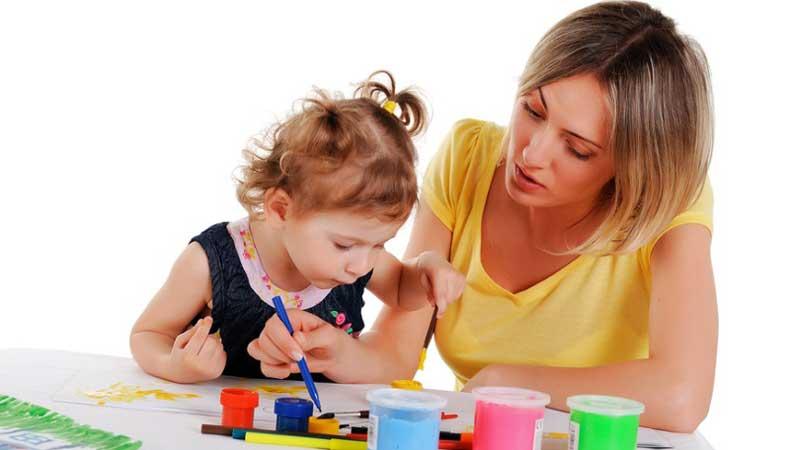 уход за детьми, Опытная няня, няня, воспитания ребёнка, научить ребёнка