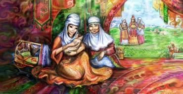Ана әлдиі, сәбиге, ана туралы шығарма , Ананың тәрбиесі
