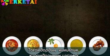 тағамдар рецептері