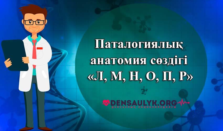 қазақша сөздік медицина